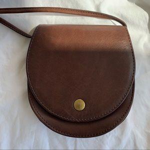 RARE VINTAGE COACH Horseshoe Belt Bag LEATHER